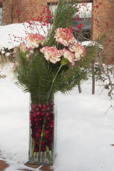 PHOTO: Floral arrangement.