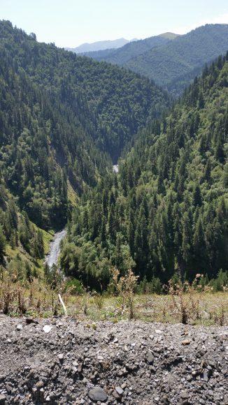 The varied topography of the Tusheti Region.