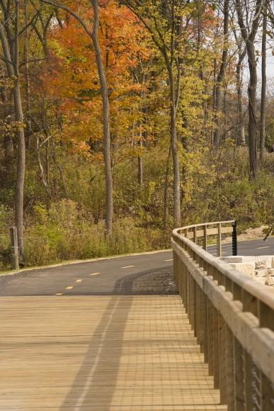 PHOTO: North Branch Trail addition (bike path).