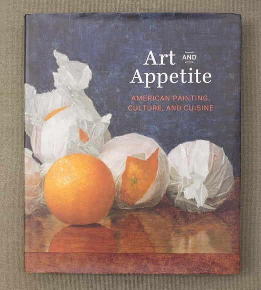 PHOTO: Book cover of Art and Appetite.