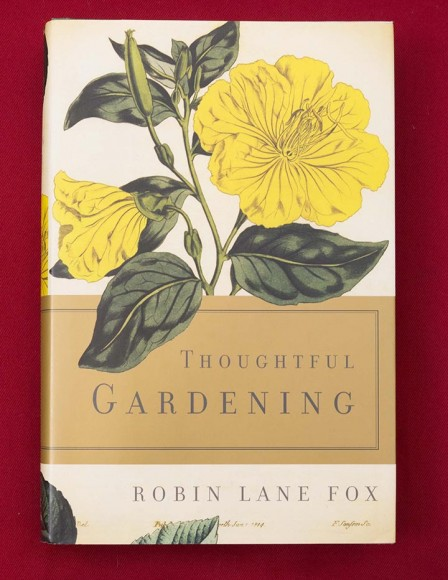 PHOTO: Book cover of Thoughtful Gardening.