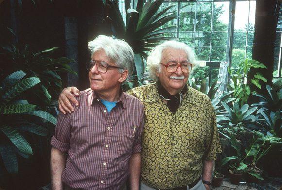 Conrad Hamerman and Roberto Burle Marx Photo ©Rick Darke
