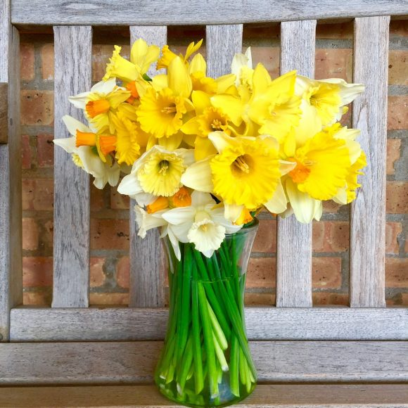 Nothing says Spring like a daffodil bouquet.