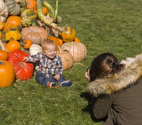 PHOTO: Selfie spot! Gourd Mountain is a great backdrop for your fall photo.