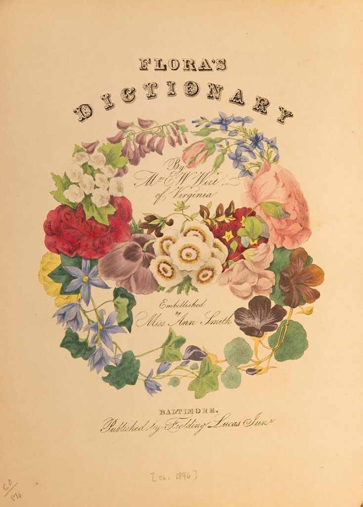 PHOTO: Flora's Dictionary bookcover.