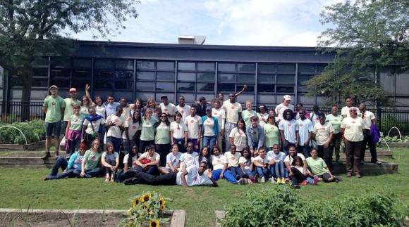 PHOTO: Group photo of the 2013 Washington Park participants.
