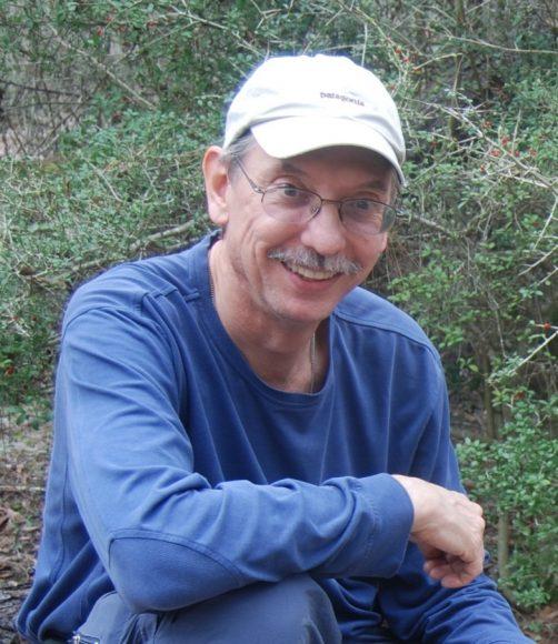 PHOTO: Dr. Greg Mueller in the field.