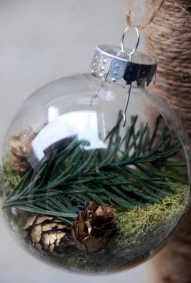 Holiday greens ornament