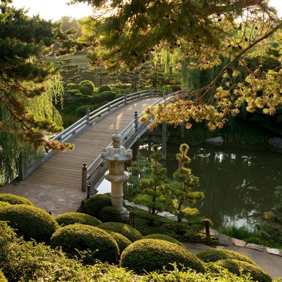 PHOTO: Japanese Garden bridge.
