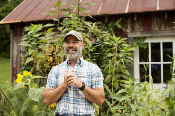 Jeff Ross at Blackberry Farm.