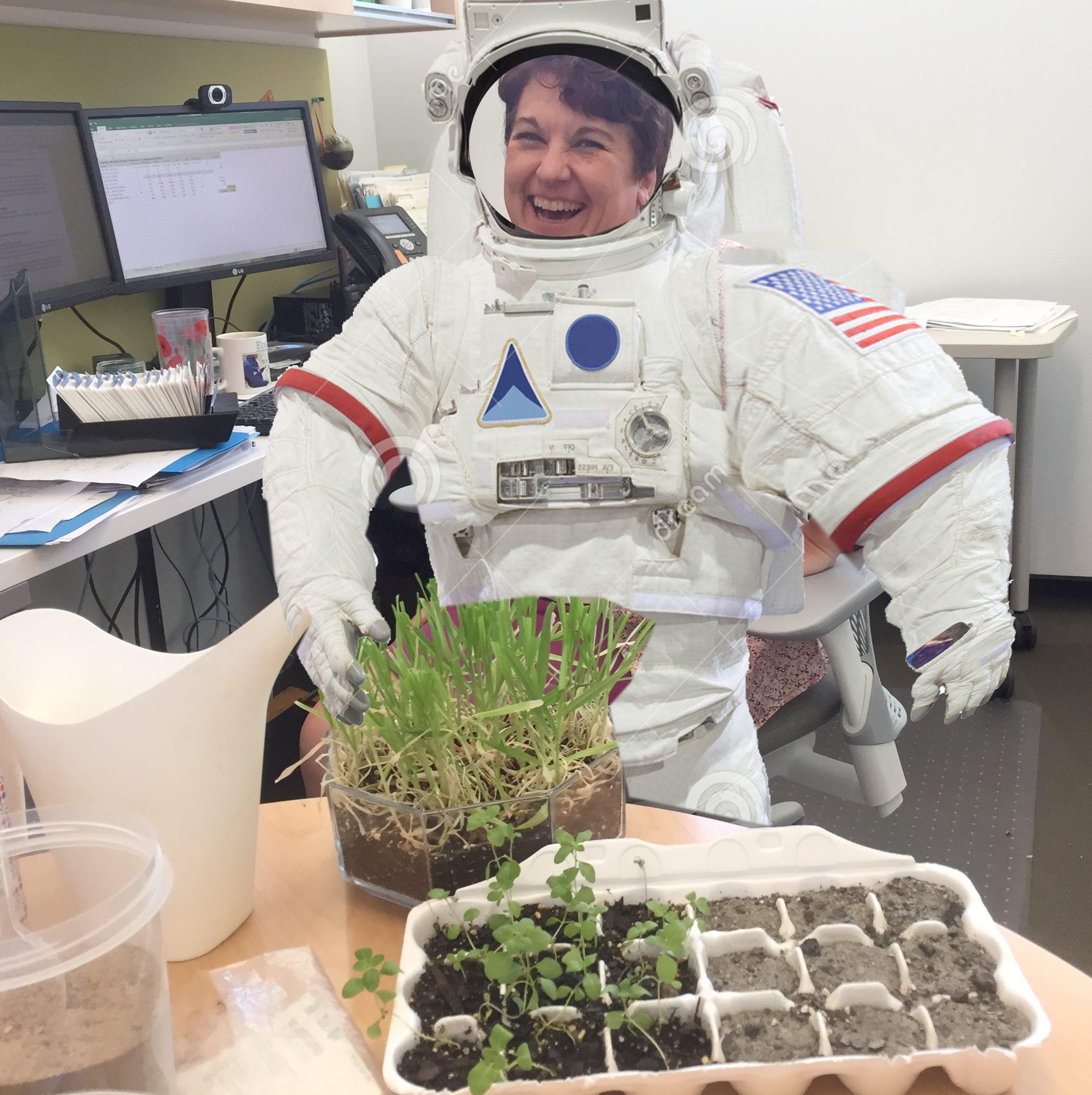 Growing Plants in Martian Soil