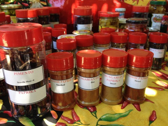 PHOTO: Pepper spices from the Pepper Cart.