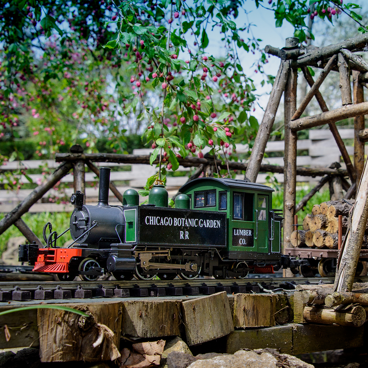 Making the trains run at the Model Railroad Garden