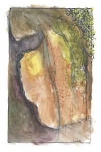 ILLUSTRATION: Waterfall by Marian Scafidi