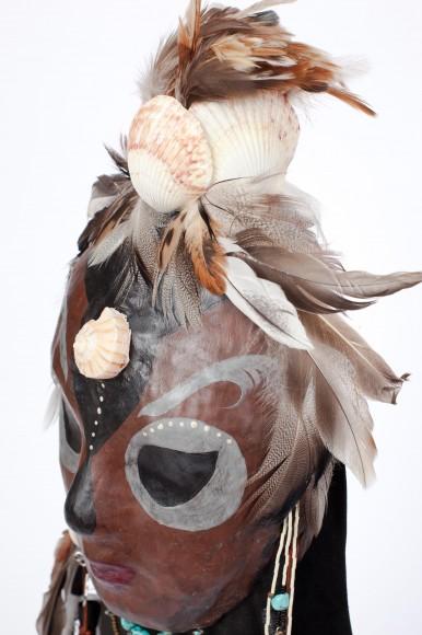 PHOTO: Shaman Spirit mask.