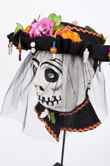 """""""Dia de los Muertos"""" mask."""
