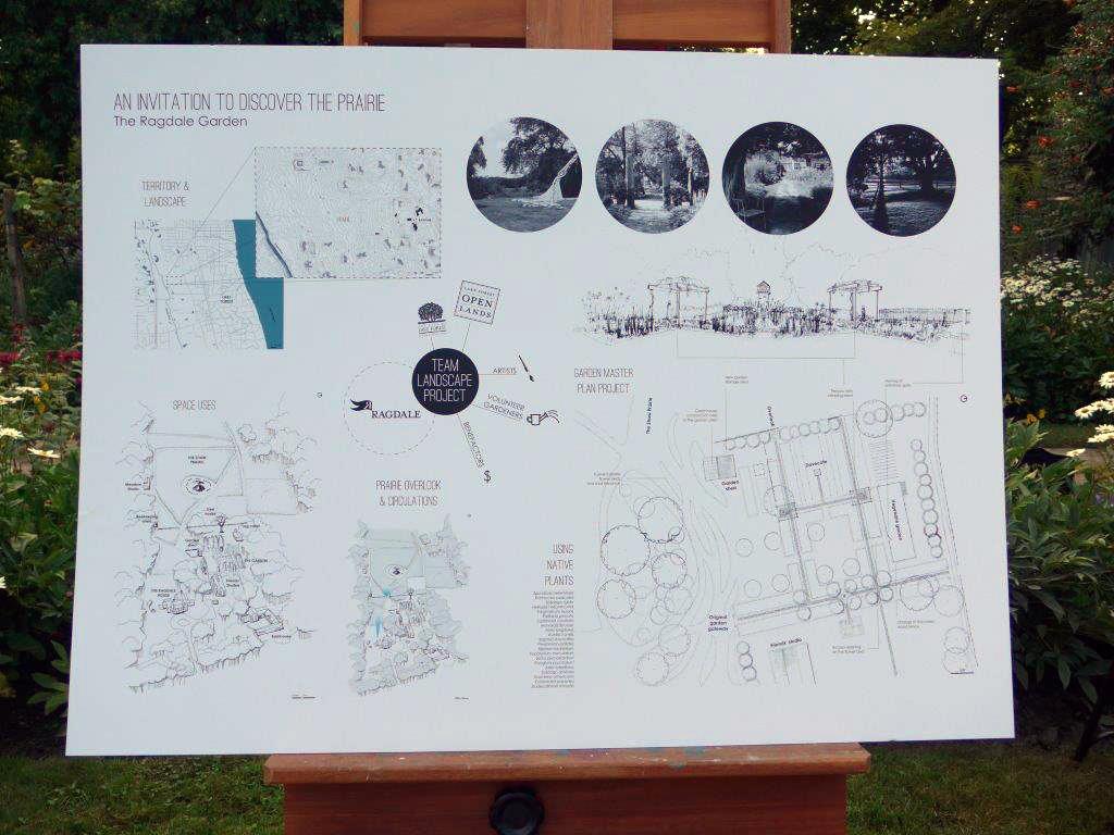 Behind the scenes my chicago botanic garden for Garden design proposal
