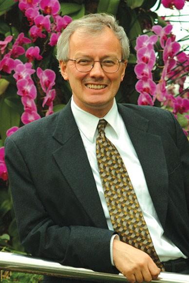 PHOTO: Guest columnist and Garden board member Peter Crane, Ph.D.