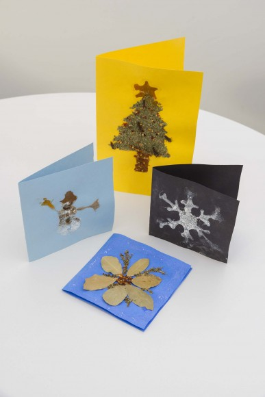 PHOTO: Spice holiday cards.