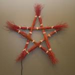 PHOTO: Star-shaped wreath.