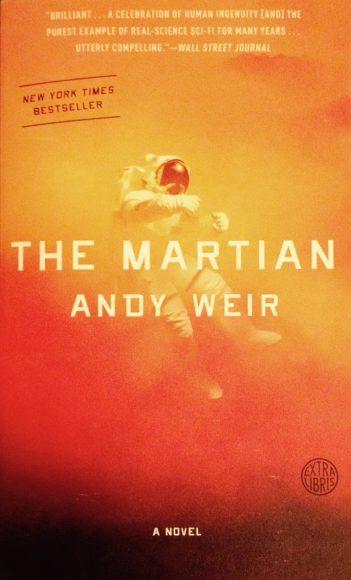 PHOTO: Book cover art for The Martian: a novel