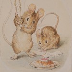 """PHOTO: Illustration from """"Two Bad Mice"""" by Beatrix Potter."""