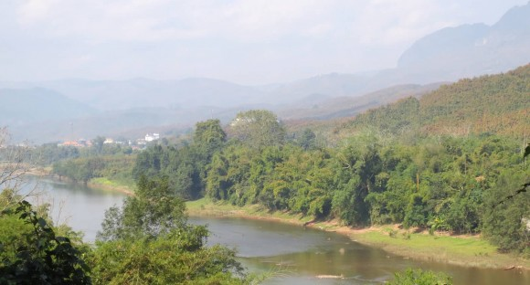 PHOTO: A view of the Mekong River Valley