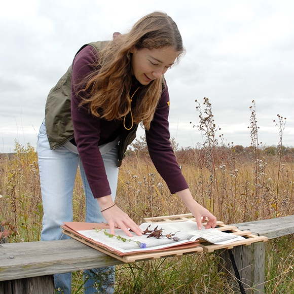 Botanist, seed conservationist and geographer Emily Yates has conserved thousands of seeds to protect the native tallgrass prairie ecosystem of the American Midwest.