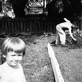 PHOTO: Ann Halley as a child.