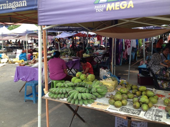 PHOTO: The market in Sabah, Malaysia.
