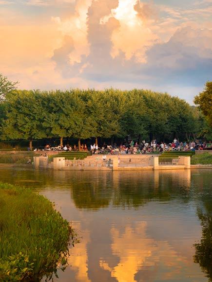 Summer Evenings at the Garden
