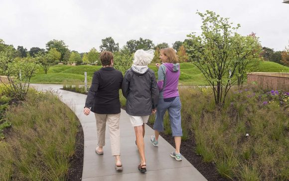 Take a walk in nature to improve your mood and your health.