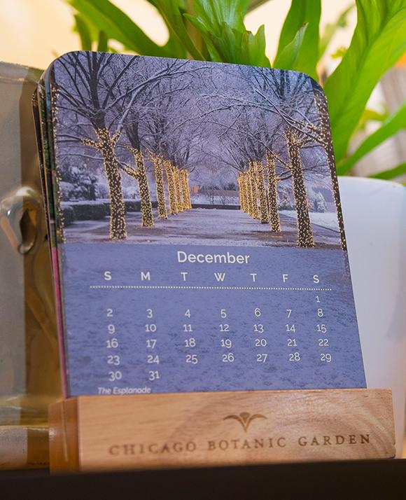 2018 Garden desktop calendar