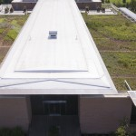 green roof aerial