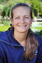 Heather Sherwood, senior horticulturist, English Walled Garden