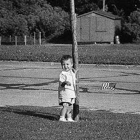 Kris Jarantoski, age 3.