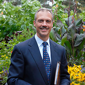 PHOTO: Kris Jarantoski, Executive Vice President and Director, Chicago Botanic Garden.