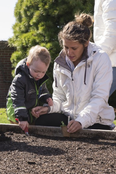 Growing and planting teaches a valuable lesson in change over time, and sticking with a project to see results that may take a while to be revealed.