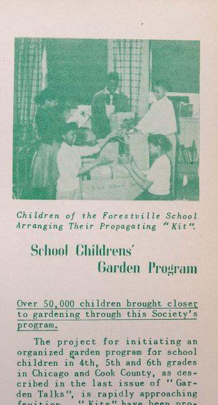 Garden Talk article from 1953