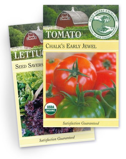 PHOTO: Seed packets.