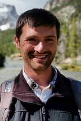 Tom Weaver, horticulturist, Dwarf Conifer Garden and Waterfall Garden