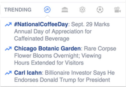"Alice the Amorphophallus hits the top of the ""trending"" charts on September 29."