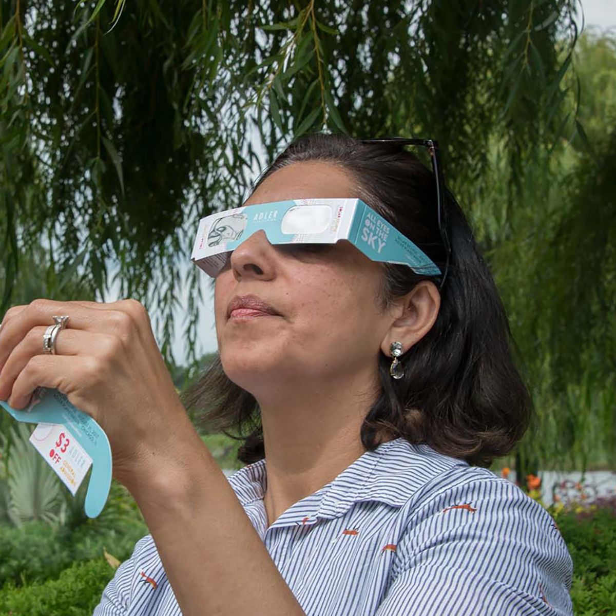 Let Nature Be Your Eclipse Viewing Guide